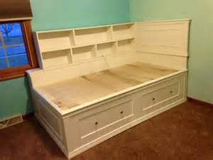 captains bed plans white captain bed diy projects