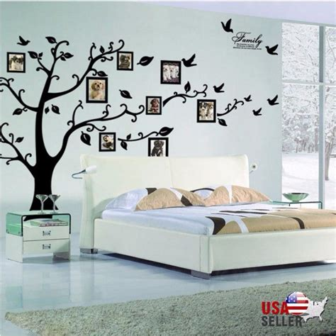 photo tree wall sticker family tree wall decal sticker large vinyl photo picture
