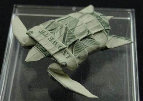 turtle dollar origami amazing collection of origami made out of dollar bills