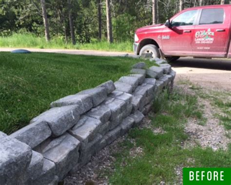 o brien landscaping before after gallery o brien landscaping inc