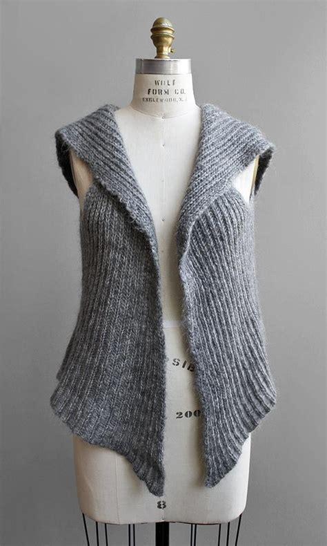 knit patterns for vests in one 25 best ideas about knit vest pattern on knit