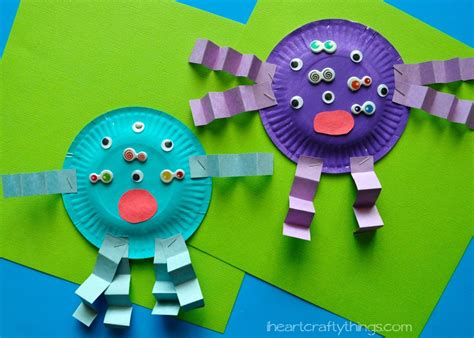 paper crafts for teenagers paper plate craft i crafty things