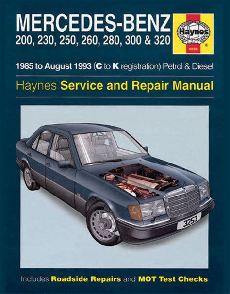 books about how cars work 1993 mercedes benz s class head up display mercedes benz 124 series 1985 1993 haynes sagin workshop car manuals repair books information