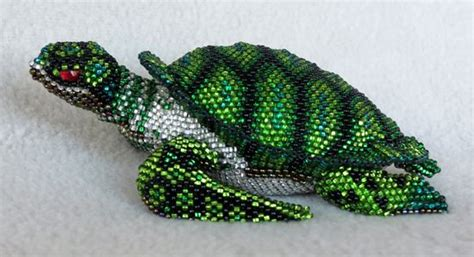 3d beaded turtle pattern beaded 3d animals 10 handpicked ideas to discover in diy