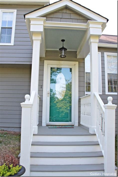 paint colors for porch exterior paint makeover southern hospitality