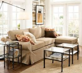 pottery barn slipcovered sofa reviews pb basic slipcovered sofa with chaise sectional pottery barn