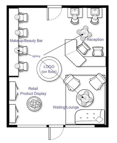 floor plan for hair salon 1000 images about salon floor plans on