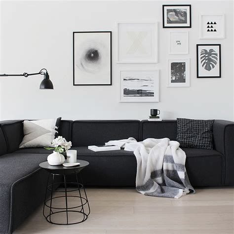 black and living room best 20 black decor ideas on