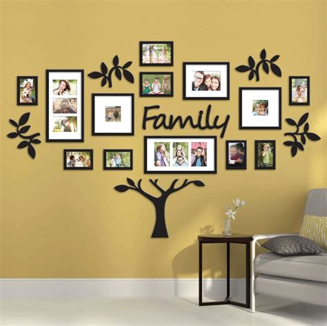 frame decorations 19 quot family tree quot wall photo frame set picture
