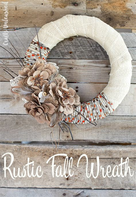 rustic craft projects 20 inspiring diy rustic fall decor ideas the crafting