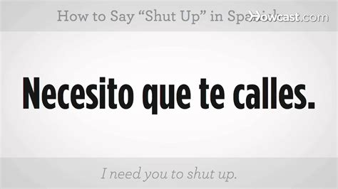 how to say how to say quot shut up quot lessons