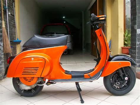 Modifikasi Vespa Px Sport by Modifikasi Motor Vespa Free Modifikasi Motor