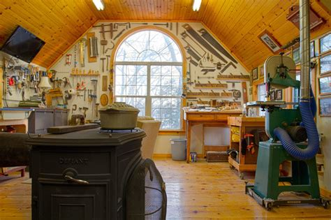 woodworking workshop nyc woodshop traditional home office new york by rikki