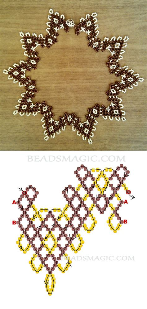 bead jewelry patterns 25 best ideas about beaded necklace patterns on