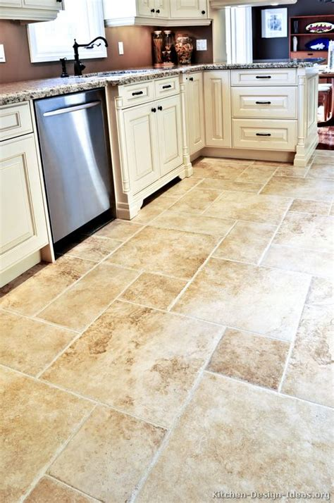 kitchen floor tile designs kitchen cabinet dilemma white or brown