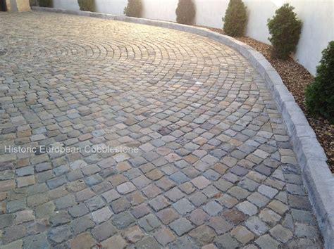 cobblestone patio pavers 17 best images about reclaimed cobblestone for driveways