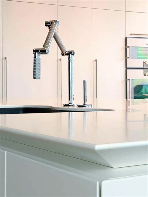 ultra modern kitchen faucets ultramodern lake house modern kitchen faucet