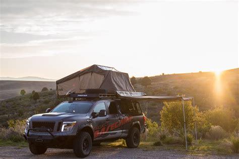 Nissan Titan Tent by Nissan Titan Xd Pro 4x Project Basec Is One Tough Truck
