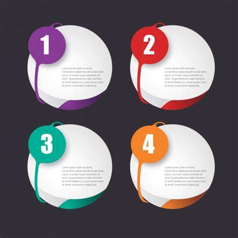 templates free infographic template design vector free