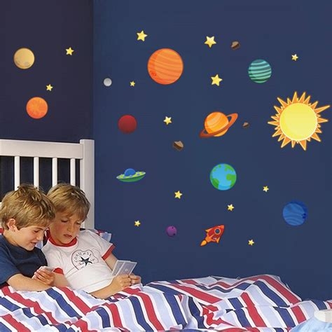 solar system for room solar system wall stickers for rooms free shipping