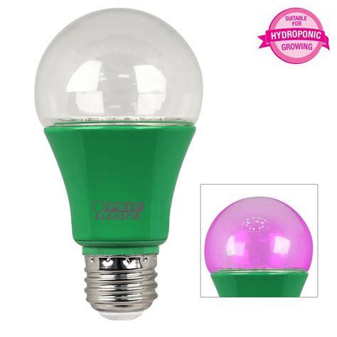 led grow light bulbs feit electric 60w equivalent a19 spectrum led plant