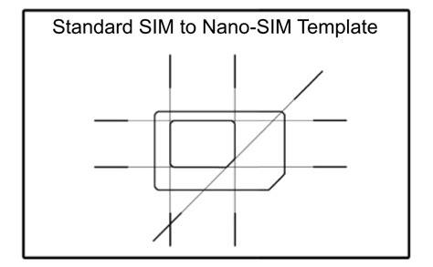 can you make a sim card into a micro sim scio sphere diy nano sim to regular size sim adapter