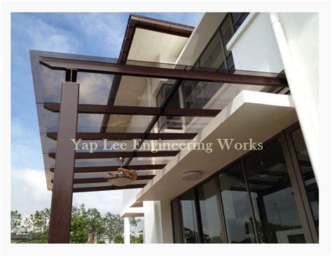 Awning Design by Glass Awning System Malaysia Laminated Glass Awning