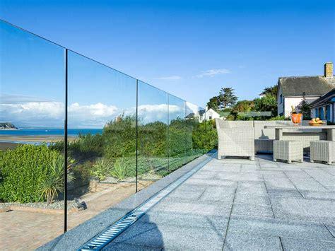 infinity glass balustrade bespoke glass balustrades