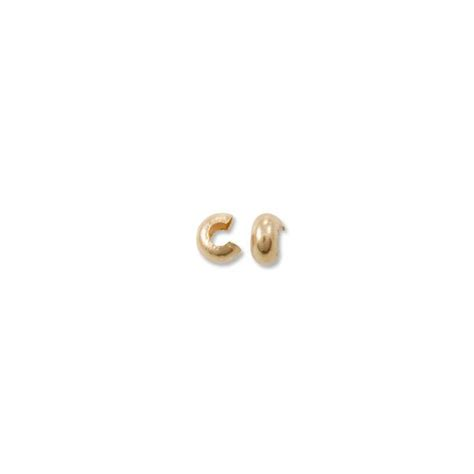 crimp bead covers crimp bead covers gold filled crimp covers 4mm