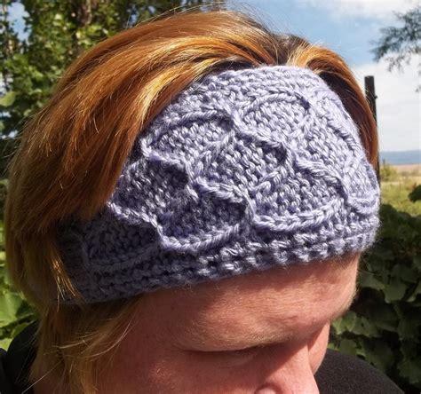 knitted ear warmer pattern knit earwarmer pattern free images frompo 1