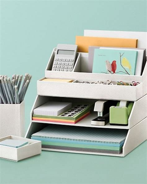 organizing desk 20 creative home office organizing ideas hative