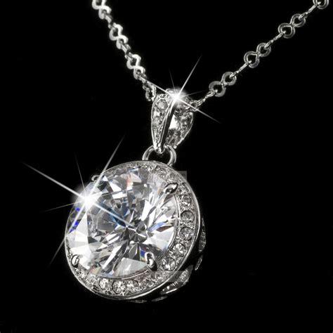 crystals jewelry 18k gold gp use genuine swarovski pendant necklace