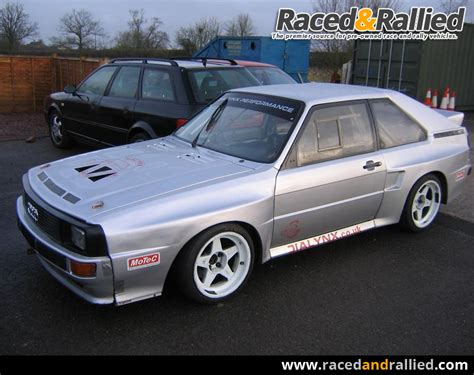 Audi Sport Quattro For Sale by Audi Quattro Rally Cars For Sale At Raced Rallied