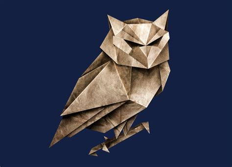 origami paper owl owligami by lucas scialabba threadless