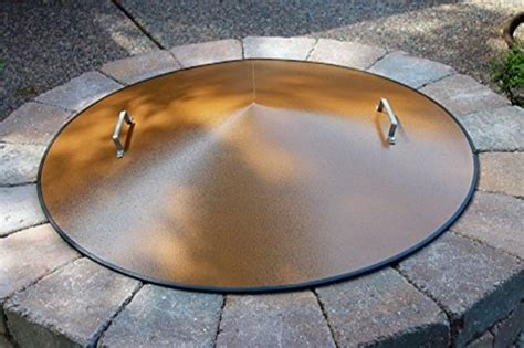 metal pit covers metal steel pit cfire ring cover 39