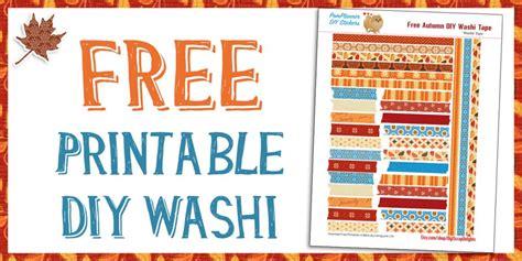 for free to print free printable autumn washi biblejournallove