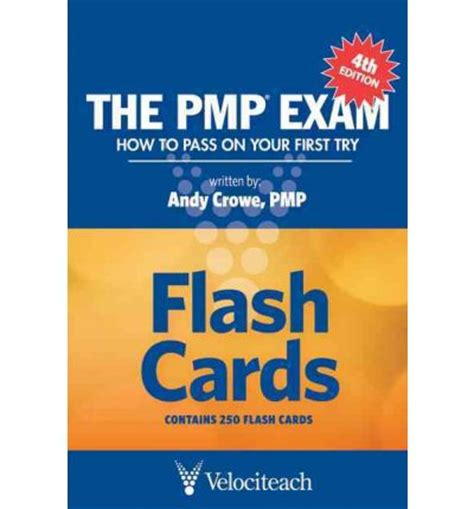 the pmp how to pass on your try fifth edition the pmp flash cards how to pass on your try