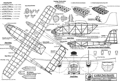 c plans c 130 5 hercules plans aerofred free
