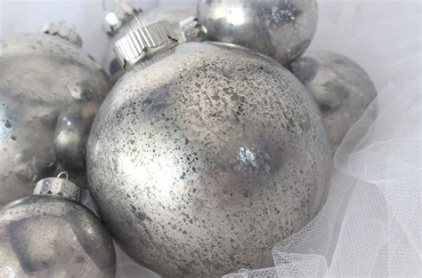 mercury glass decorations mercury glass tree ornaments two crafting