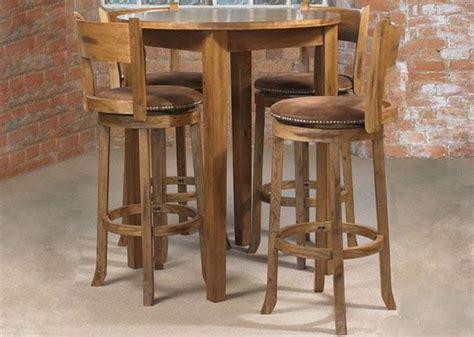 bar high kitchen tables kitchen dining sets webster cordoba pub table 4