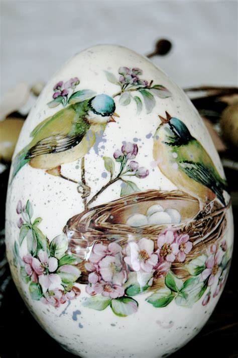 decoupage easter eggs decoupage easter egg the announcement of