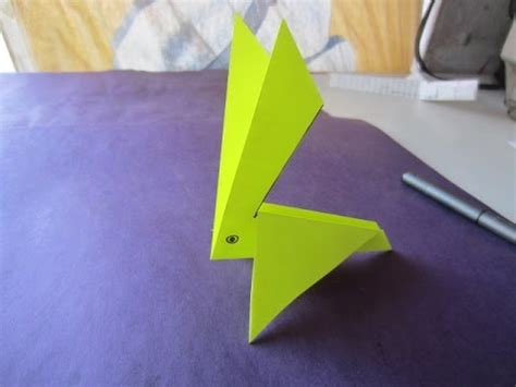 simple craft work for easy paper craft work paper rabbit