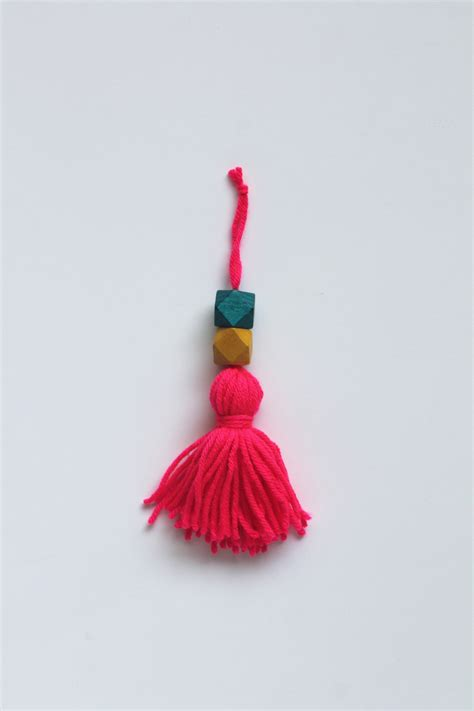how to make a beaded tassel diy tutorial beaded tassel ornaments sew diy