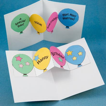 Make Birthday And Invitation Pop Up Cards Pop Up