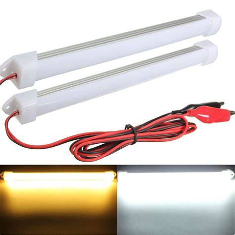 car led light bars 2015 new 2pcs 12v led car interior light bar