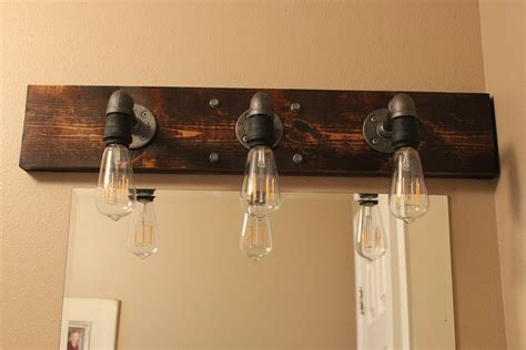 above mirror lighting bathrooms diy industrial bathroom light fixtures