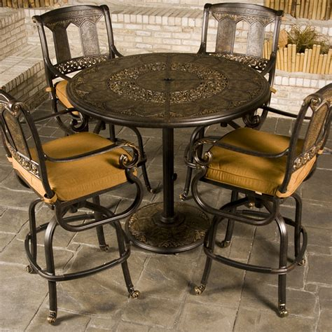 patio furniture bar table st moritz bar height patio furniture family leisure