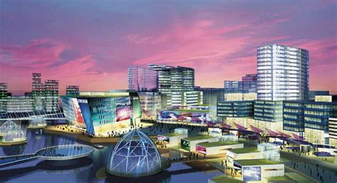 media city mediacity uk salford masterplan e architect