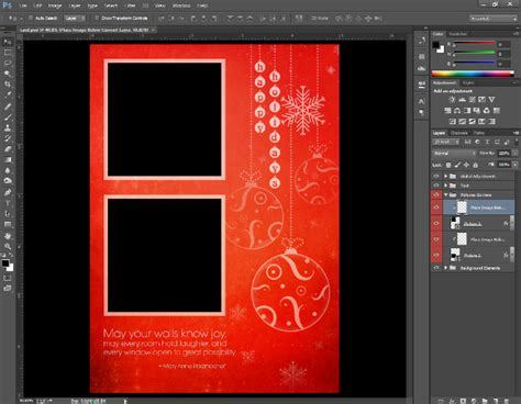 how to make a card in photoshop 6 steps to creating custom greeting cards in photoshop
