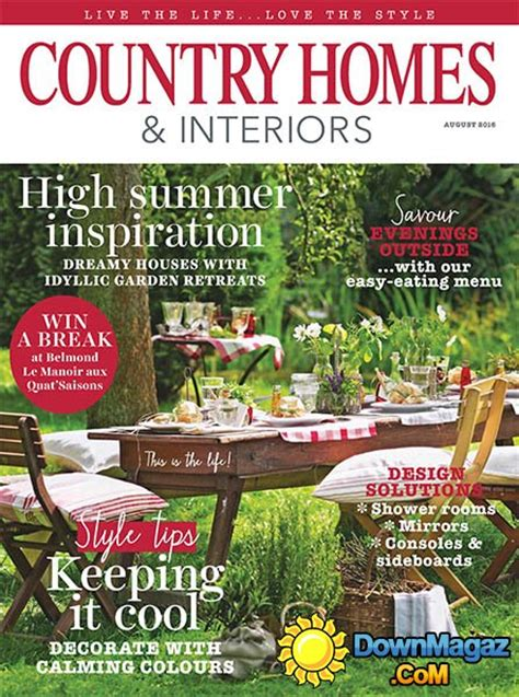 country homes and interiors magazine country homes interiors august 2016 187 pdf